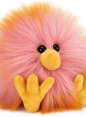 Jellycat Crazy Chick Pink & Orange