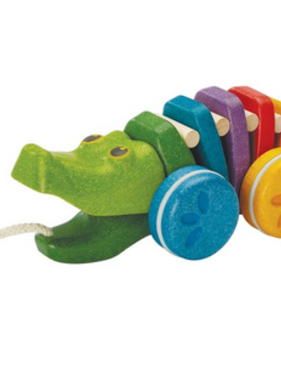 Plan Toys Rainbow Dancing Alligator 1416