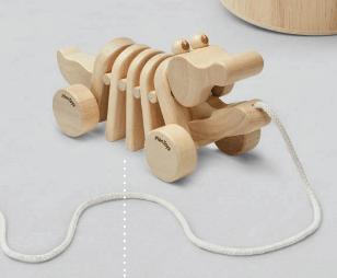 Plan Toys Dancing Alligator - Natural 5721