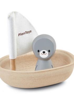 Plan Toys Sailing Boat Seal 5710