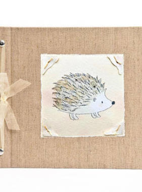 Baby Memory Book Personalized Baby Memory Book Hedgehog