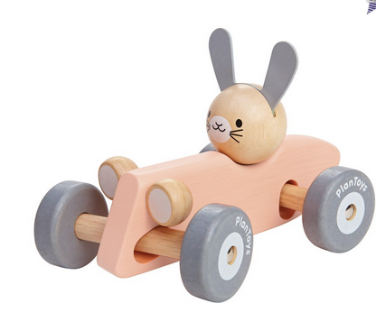 Plan Toys BUNNY RACING CAR 5717