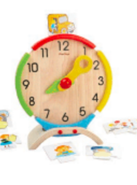 Plan Toys ACTIVITY CLOCK 5122