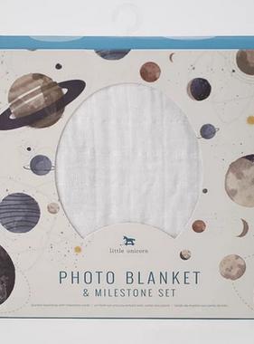 Little Unicorn Photo Blanket - Planetary