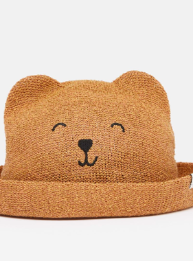 Joules Ashton Straw Animal Hat