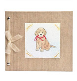 Baby Memory Book Baby Memory Book Puppy  Blue