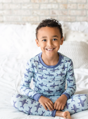 Little Sleepies Shark 2 PC Pajama Set