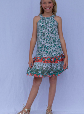 Joyous And Free Sally Dress, Lebor