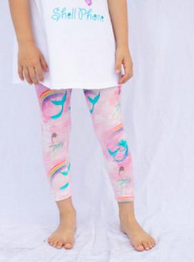 Haven Children Capri Legging Mermaid 88A551K19