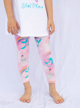 Haven Girl Capri Legging Mermaid 88A551K19