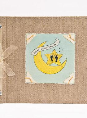 Baby Memory Book Baby Memory Book Moon & Star