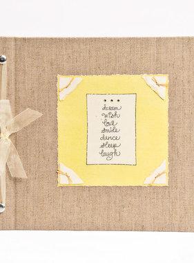 Baby Memory Book Baby Memory Book Dream Wish Love Lime
