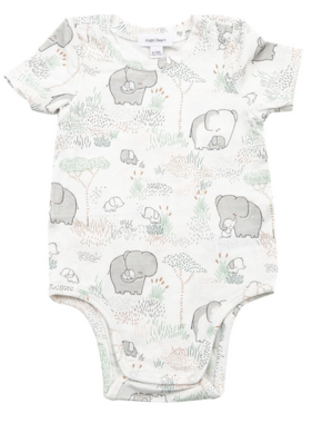 Angel Dear Elephants Bodysuit