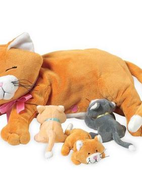 Manhattan Toy 107790  Nursing Nina Cat