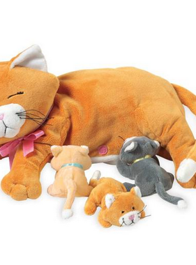 Manhattan Toy Nursing Nina Cat 107790 MAIL DELIVERY ONLY