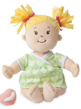 Manhattan Toy Baby Stella Blonde Doll 152410 MAIL DELIVERY ONLY