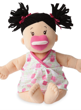 Manhattan Toy Baby Stella Brunette Doll 153000 MAIL DELIVERY ONLY