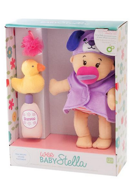 Manhattan Toy Wee Baby Stella Doll Bathing Set 314370 MAIL DELIVERY ONLY