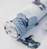 Little Unicorn Cotton Muslin Swaddle Single - Matilda