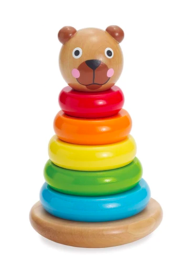 Manhattan Toy Brilliant Bear Magnetic Stack-up 211540 MAIL DELIVERY ONLY