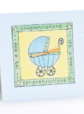 Greeting Cards Enclosure Card - It's A Boy