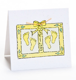 Greeting Cards Enclosure Card - Twins