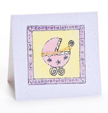 Greeting Cards Enclosure Card - It's A Girl
