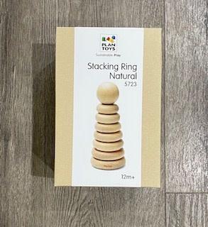Plan Toys Stacking Ring - Natural 5723