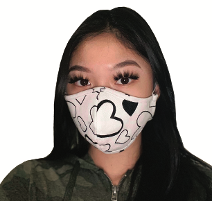 Face Mask PKP Adult Face Mask - Dragonfly