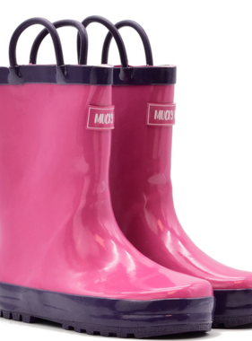 Mucky Wear Pink/Purple Loop Boot
