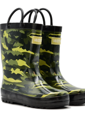 Mucky Wear Army Camo Loop Boot