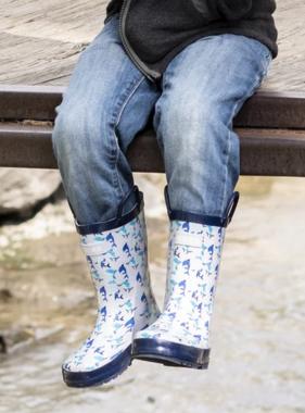 Mucky Wear Shark Boots Loop