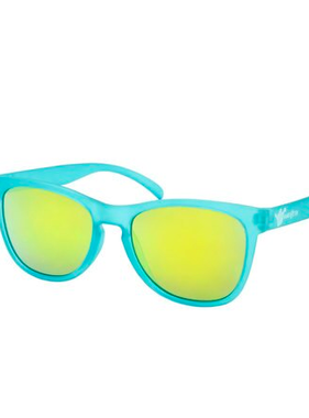 Hang Ten Teal Polycarbonate UV400 Classic Sunglasses HTK02A