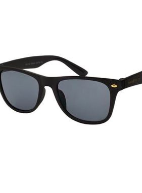 Hang Ten Black Polycarbonate UV400 Classic Sunglasses HTK17D