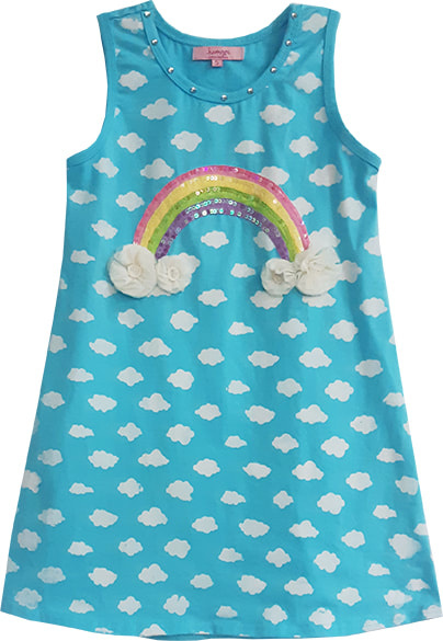 Haven Girl Above The Clouds Dress, Lagoon