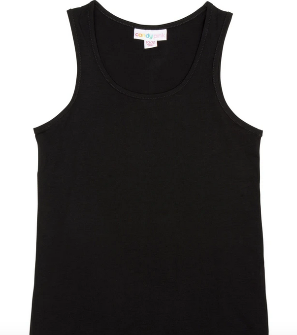 Candy Pink S17551 Tank Top Black
