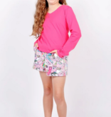Candy Pink S20416 Short Rainbow Carnival Lilac