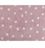 Lorena Canals C-00081 Polka Dots Pink - White
