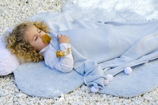 Lorena Canals Puffy Dream Rug Blue