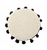 Lorena Canals SC-Circle Cushion Circle Black