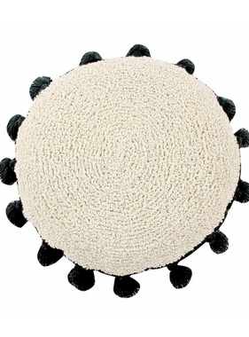 Lorena Canals SC-Circle Cushion Circle Black