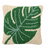 Lorena Canals SC-Monstera Cushion Leaf