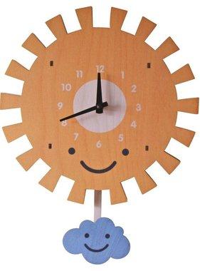 Modern Moose Sun Pendulum Clock 1503 PREORDER
