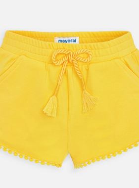 Mayoral 607 79 Yellow shorts