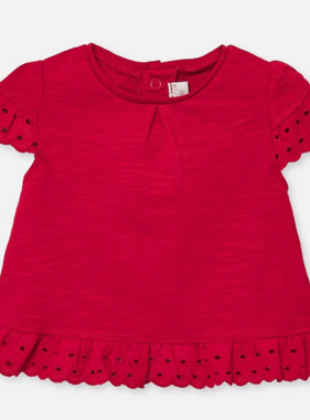 Mayoral 1034 37 Red S/s t-shirt