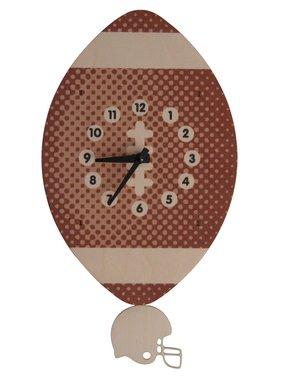 Modern Moose Football Pendulum Clock PCPEN046 **PREORDER