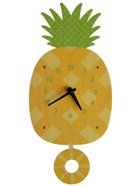 Modern Moose Pineapple Pendulum Clock **PREORDER