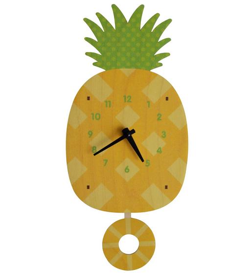 Modern Moose Pineapple Pendulum Clock