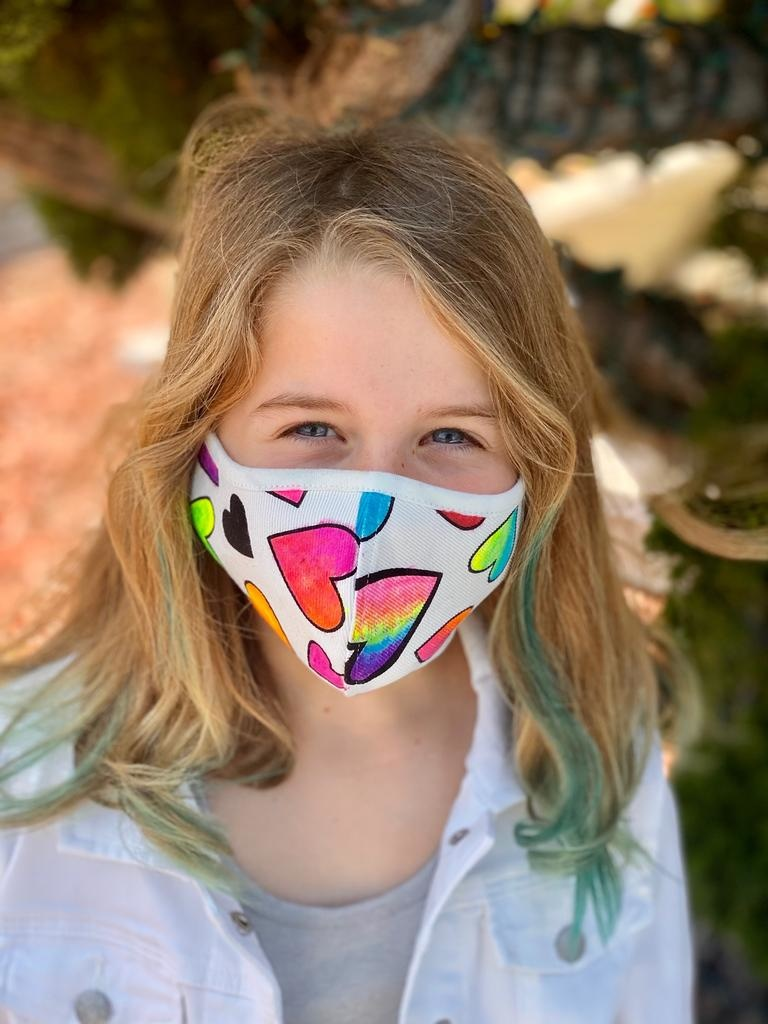Face Mask Kids Face Mask-Popscicle