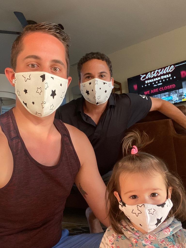 Face Mask PKP Kids Face Mask  - Confetti Heart